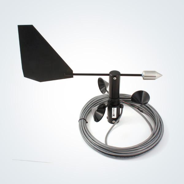 Sensor de velocidad y dirección del viento