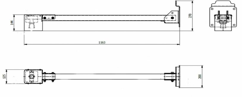 Soporte sensor de nivel MB7052