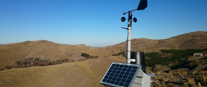 Nuevas instalaciones de Estaciones Meteorológicas en la Cuenca de Embalse de Río Tercero