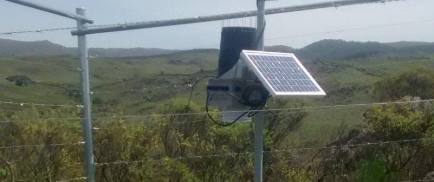 Instalación de Estación Meteorológica- Río Los Sauces