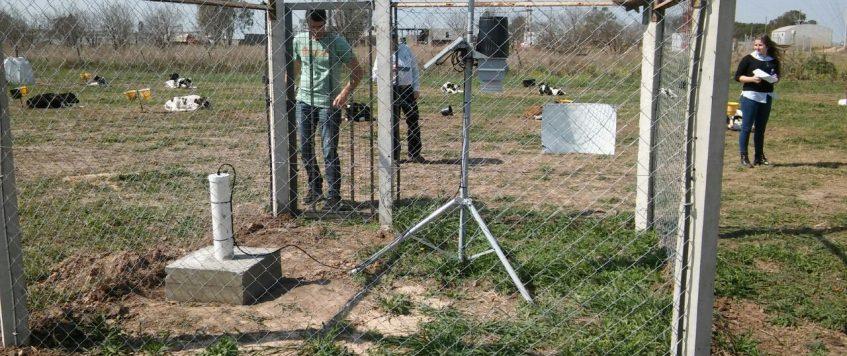 Primer Freatímetro en la red Meteorológica del Ministerio de Agricultura