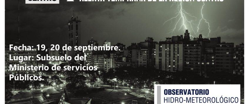 Omixom, participará del V Taller de Radarización y Sistemas de Alerta Temprana de la Región Centro