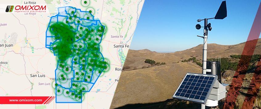 Acceso gratuito e instantáneo de los datos brindados por las Estaciones Meteorológicas de la Provincia de Córdoba