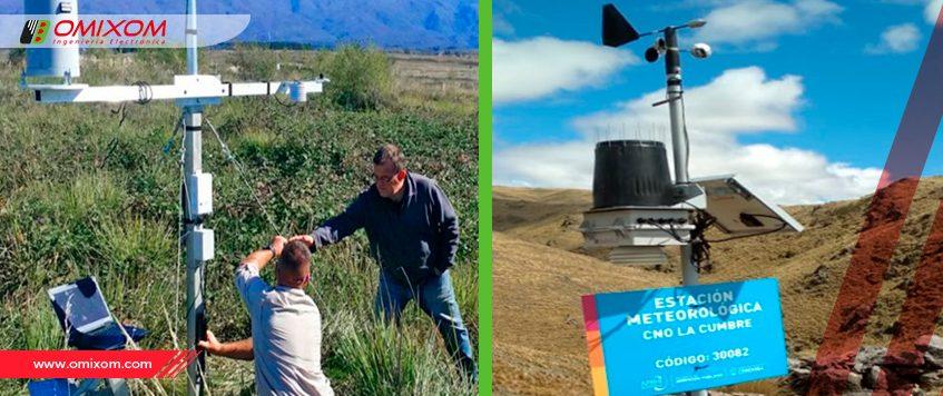 Omixom y su rol en la Red de Estaciones Meteorológicas Provincia de Córdoba