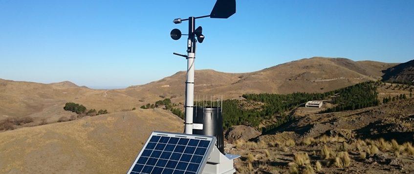 Presentaron el Sistema de Integración y Validación de Información Meteorológica.